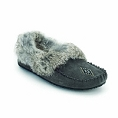 LADIES 'CHARCOAL'' STREET MOCCASIN