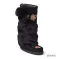 LADIES BLACK 'METIS' MUKLUK