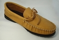 MEN'S MOOSE HIDE WITH RUBBER SOLE MOCCASIN